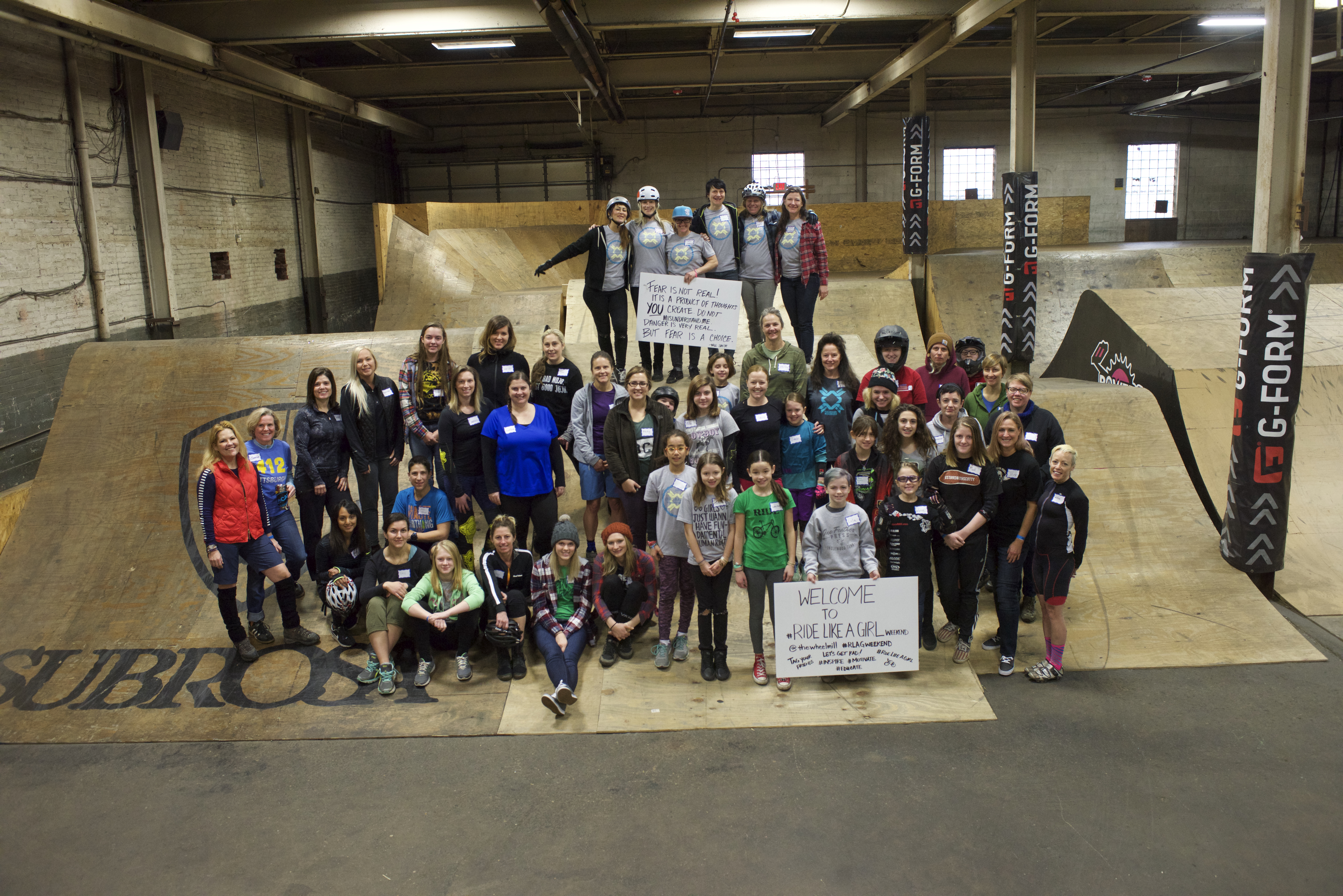 80bb6924cc4 The Ride Like A Girl Weekend was developed to help women and girls become  comfortable in the park and, more importantly, better educated about the ...