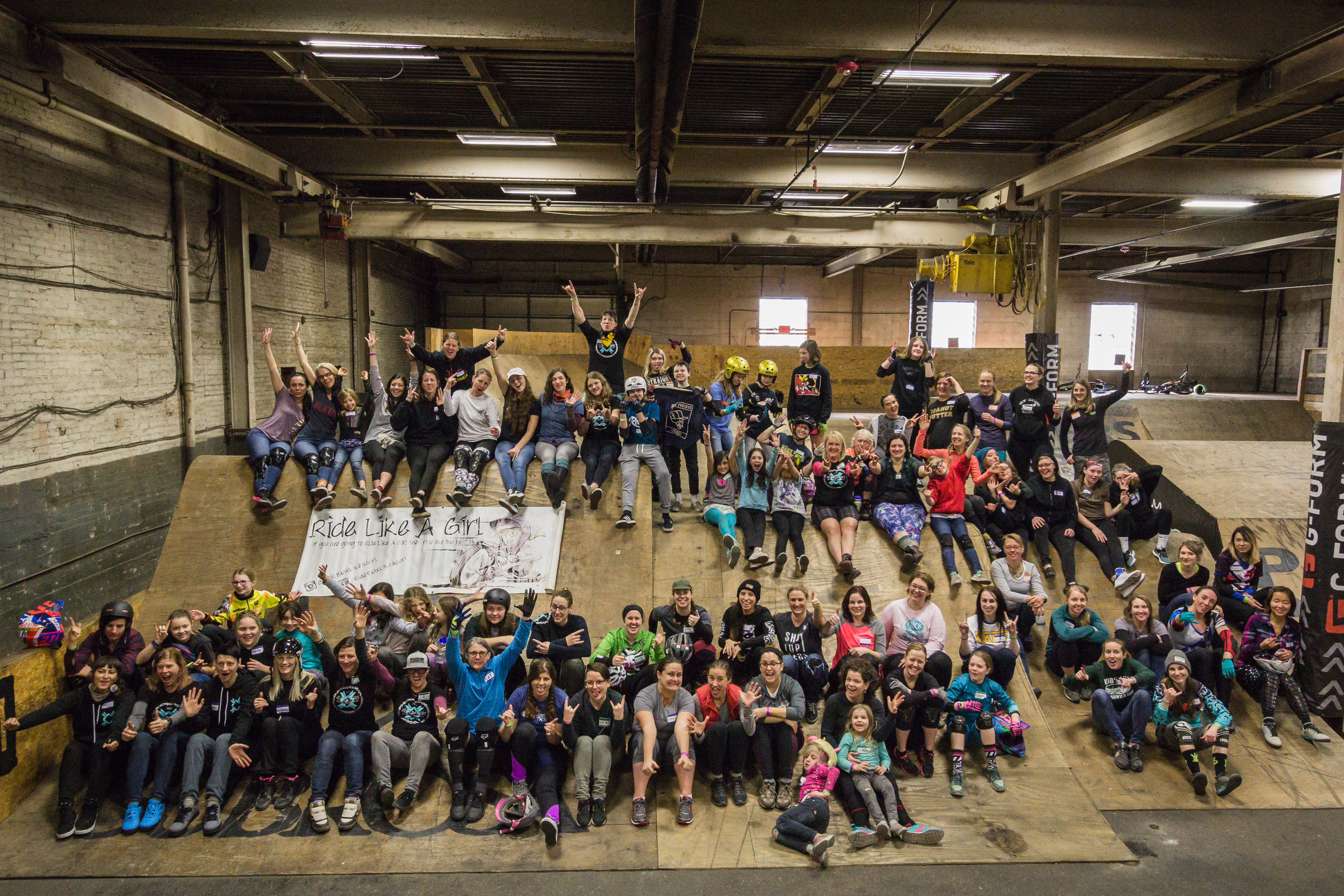 9e020d2fc62 On January 13, 2018 The Wheel Mill was packed with 73 female cyclists and  six coaches. We came together for the Ride Like A Girl Weekend with a  common goal ...